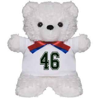 NUMBER 46 FRONT Teddy Bear for $18.00
