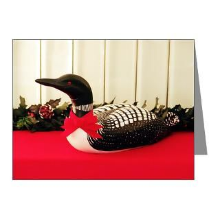 Bird Gifts  Bird Note Cards  Holiday Loon Note Cards (Pk of 10)