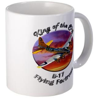 Air Force Gifts  Air Force Drinkware  B 17 Flying Fortress Mug