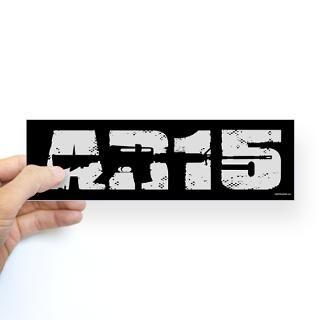 AR 15 (2) Sticker (Bumper)