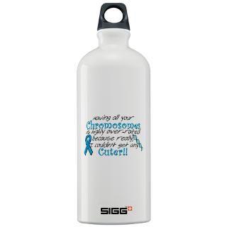 Chromosome 18 Deletion Sigg Water Bottle for $32.00