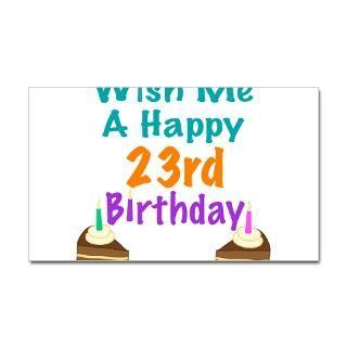 Happy 23Rd Birthday Stickers  Happy 23Rd Birthday Bumper Stickers