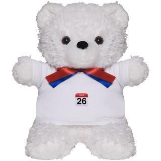 Gifts  Teddy Bears  Apple iPhone Calendar June 26 Teddy Bear