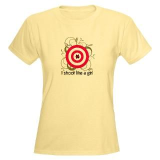 Shoot Like A Girl T Shirts  I Shoot Like A Girl Shirts & Tees