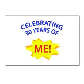 Celebrating 30 Years Of Me Postcards (Package of for $9.50