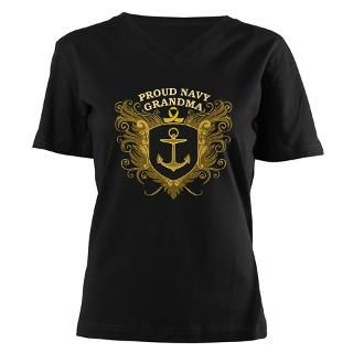 Navy Grandma T Shirts  Navy Grandma Shirts & Tees