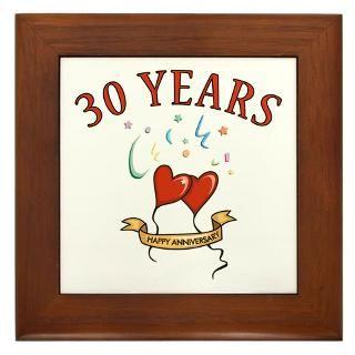 30Th Anniversary Framed Art Tiles  Buy 30Th Anniversary Framed Tile
