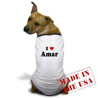 Amar Gifts  Amar Pet Apparel  AMAR Dog T Shirt