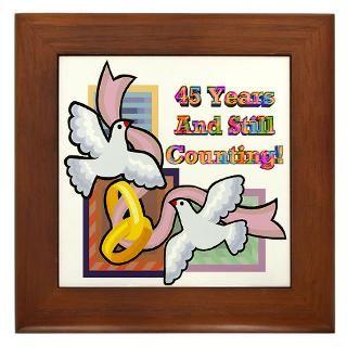Anniversary Framed Art Tiles  Buy Anniversary Framed Tile
