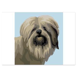 polish lowland sheepdog 4 5 x 6 25 flat cards $ 1 45