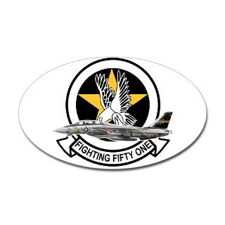 VF 51 Screaming Eagles Oval Decal for $4.25