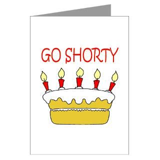 50 Cent   Go Shorty Its You Greeting Cards (Pack