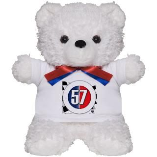 57 Car logo Teddy Bear for $18.00