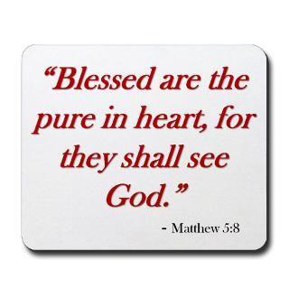 Bible Gifts  Bible Home Office  Matthew 58 Mousepad
