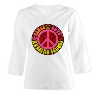 Peace, Love, Nursing School  StudioGumbo   Funny T Shirts and Gifts