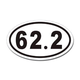 62.2 Euro Oval Sticker