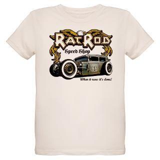 Rat Rod Speed Shop 66 T Shirt