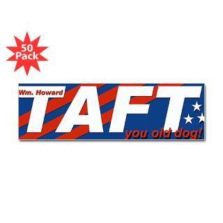 2012 William Howard Taft Bumper Sticker (50 pk)
