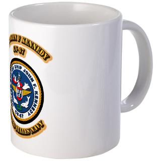 67 Gifts > 67 Drinkware > US   NAVY   USS John F Kennedy   CV 67