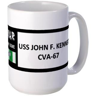 Uss John F Kennedy Mugs  Buy Uss John F Kennedy Coffee Mugs Online