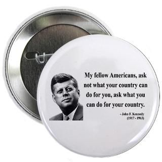 John F. Kennedy Button  John F. Kennedy Buttons, Pins, & Badges