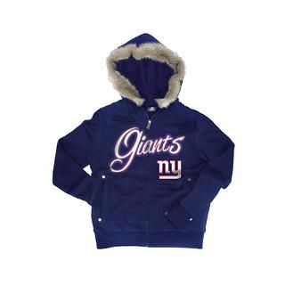 New York Giants Womens Royal Brushed Fleece Faux for $76.99