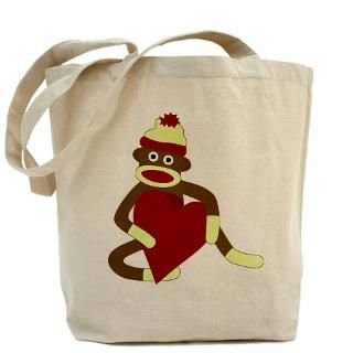 Sock Monkey Bags & Totes  Personalized Sock Monkey Bags