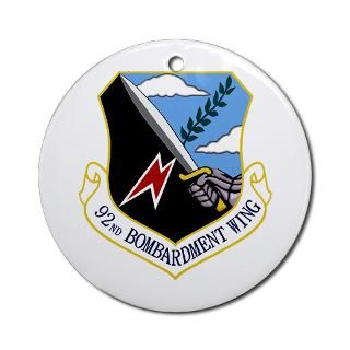 Air Force Bombardment Space Wing Units Christmas Ornaments  Unique