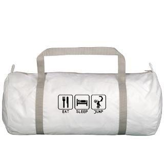 Bike Gifts  Bike Bags  Eat Sleep Jump FMX Logo Gym Bag