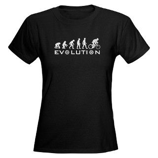 Evolution Of Bike T Shirt by thefamouslabel