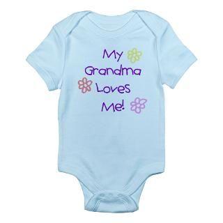 Grandma Loves Me Baby Bodysuits  Buy Grandma Loves Me Baby Bodysuits