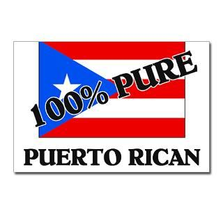 100 Percent PUERTO RICAN Postcards (Package of 8) for $9.50