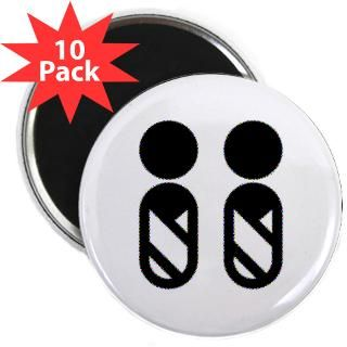 TWINS SYMBOL 2.25 Magnet (10 pack)