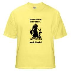 Grim Reaper Gun Rights T Shirt by Amendment2Gear