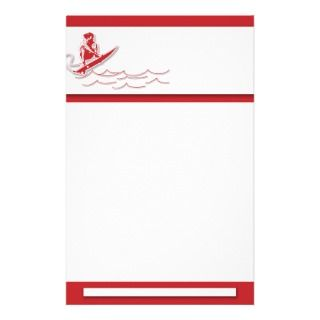 Surfing Stationery : invitations, mailings, promo