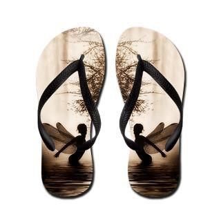 Black And White Gifts  Black And White Flip Flops  Believe Fairy