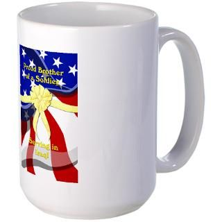 Proud Air Force Brother Mugs  Buy Proud Air Force Brother Coffee Mugs