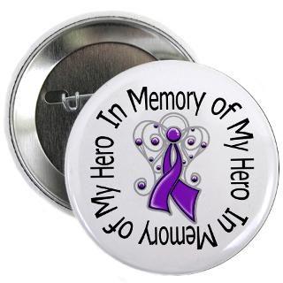 In Memory of My Hero Pancreatic Cancer Angel Shirt  Gifts 4 Awareness