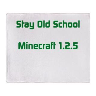 Mine Craft Fleece Blankets  Mine Craft Throw Blankets