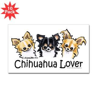 Cartoon Chihuahua Stickers  Car Bumper Stickers, Decals