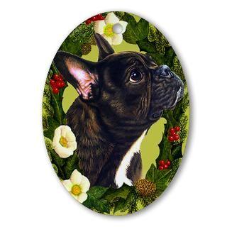 French Bulldog Christmas Christmas Ornaments  Unique Designs