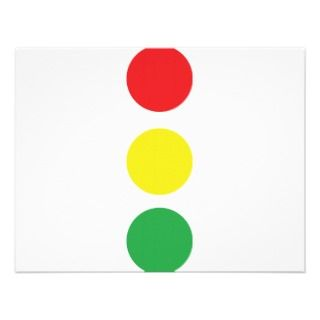 stop light icon personalized invites