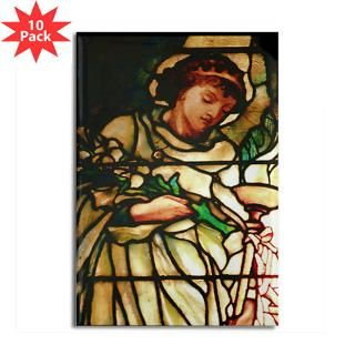 Tiffany Angel  RALLEY stained glass designs on gifts and t shirts