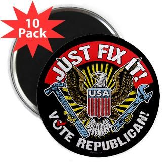Just Fix It! : RightWingStuff   Conservative Anti Obama T Shirts
