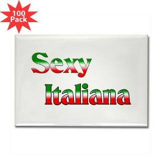 sexy italiana rectangle magnet 100 pack $ 179 99