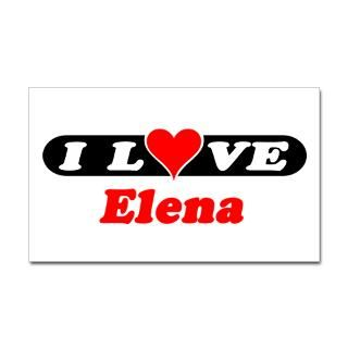 Love Elena Stickers  Car Bumper Stickers, Decals