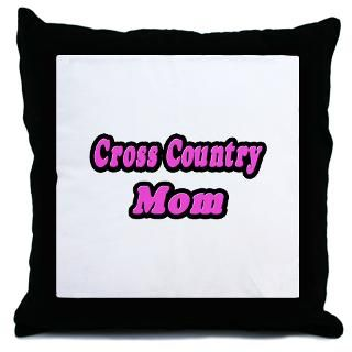 Cross Country Mom (Pink)  Gifts and Apparel for Sports Parents and