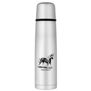 Chinese Gifts  Chinese Drinkware  Chinese Crested Large Thermos
