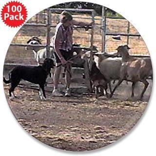 herding dog art 3 5 button 100 pack $ 188 00