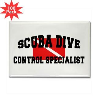 scuba dive control specialist rectangle magnet 10 $ 189 99